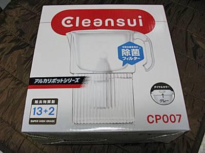 三菱レイヨンのクリンスイのポット型浄水器CP007