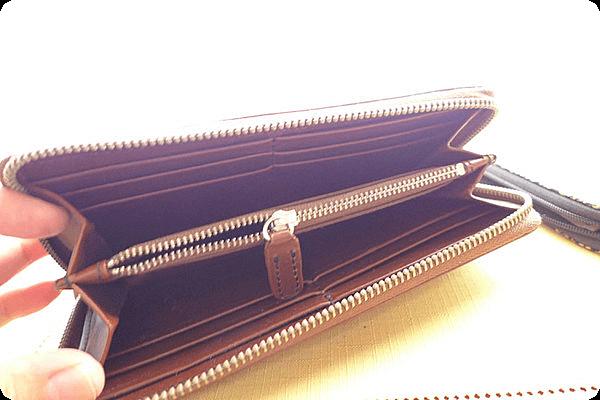 印伝の長財布の前に使用していたRed Wingの長財布