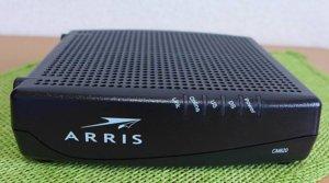 J:COM 120M用モデム ARRIS CM820