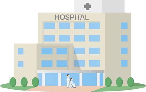 病院に行きました