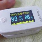SO-102パルスオキシメーターで血中酸素飽和度(SpO₂)を測定してみた